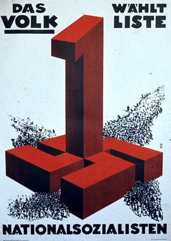 Manifesto di propaganda del Partito nazionalsocialista per le elezioni del 6 novembre 1932.