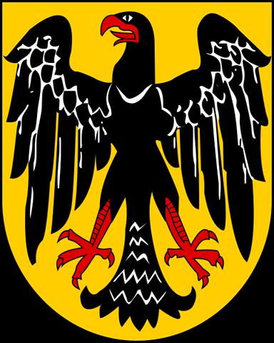Lo stemma della Repubblica di Weimar