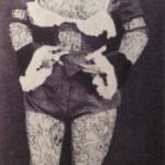 """Wilhelm Bendow nei panni della """"donna tatuata"""""""
