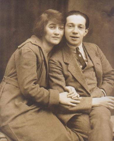 Blandine Ebinger e Friedrich Hollaender