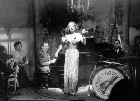 Marlene Dietrich con Friedrich Hollaender.