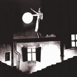 "Blandine Ebinger interpreta ""O Mond""."