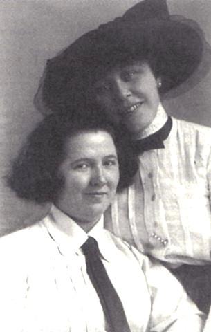 Claire Waldoff e Olga von Roeder