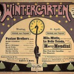 Harry Houdini al Wintergarten di Berlino