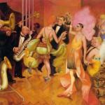 """Otto Dix, """"Das Großstadt Triptychon"""", 1927-1928"""