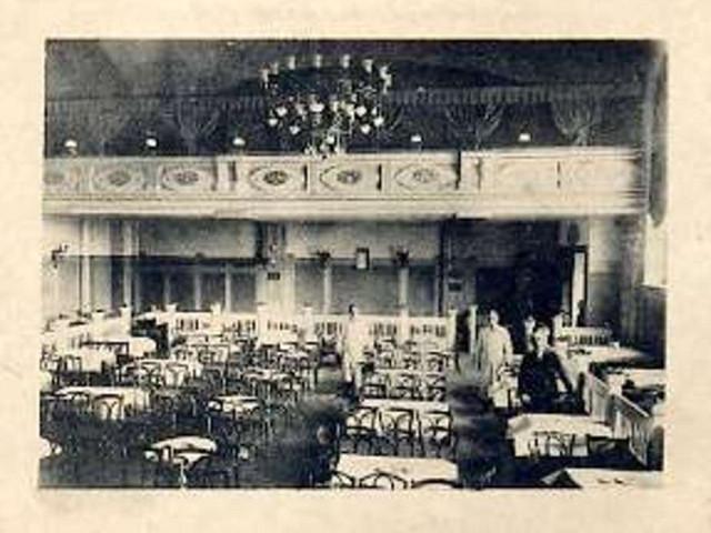 Il Kolibri-Festsäle und Kabarett all'epoca della sua attività.
