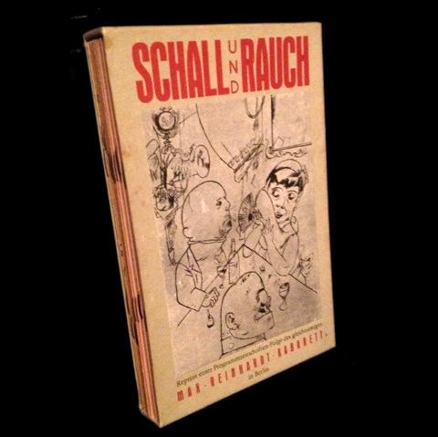Il cofanetto con le ristampe dei programmi di sala dello Schall und Rauch, edito da Der Morgen nel 1985.