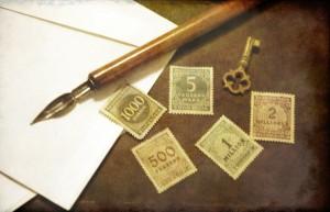 Francobolli dai 500 ai 2 milioni di Marchi (collezione privata F.C.N.)