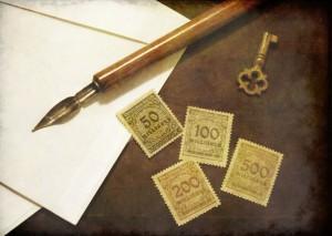 Francobolli dai 50 milioni ai 500 milioni di Marchi (collezione privata F.C.N.)
