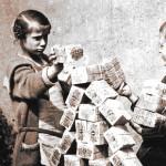 Iperinflazione: una montagna di soldi