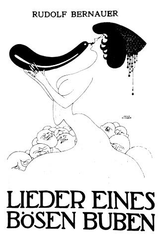 Copertina della raccolta dei testi delle canzoni dei Bösen Buben