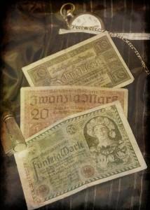 Papiermark da 10, 20 e 50 Marchi (collezione privata F.C.N.)