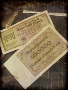 Papiermark dai 1000 ai 500.000 Marchi (collezione privata F.C.N.)