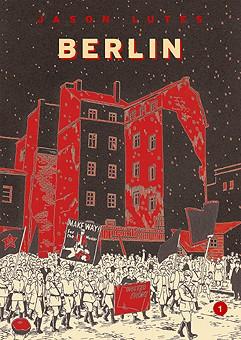 """Copertina dell'edizione italiana di """"Berlin: la città delle pietre"""""""