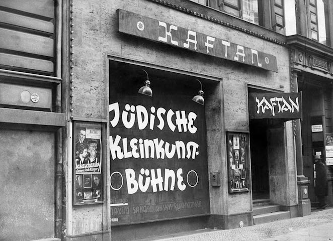 La sede del Kaftan in Jägerstrasse, nel 1930