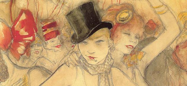 """Jeanne Mammen, """"Sie repraesentiert"""", circa 1927"""