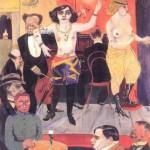 """Rudolf Schlichter, """"Tingel-Tangel"""", 1919"""