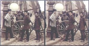 Stereogramma su vetro di August Fuhrmann del 1890