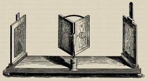 Lo stereoscopio a specchi di Charles Wheatstone