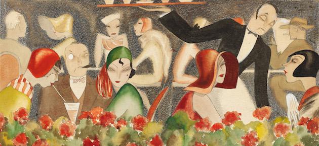 """Dodo, """"Wedding auf dem Dachgarten"""", 1929"""