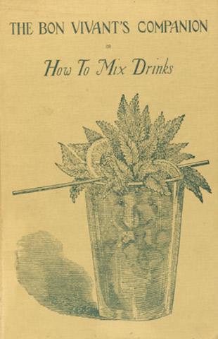 """Copertina di """"How to Mix Drinks"""" di Jerry Thomas"""