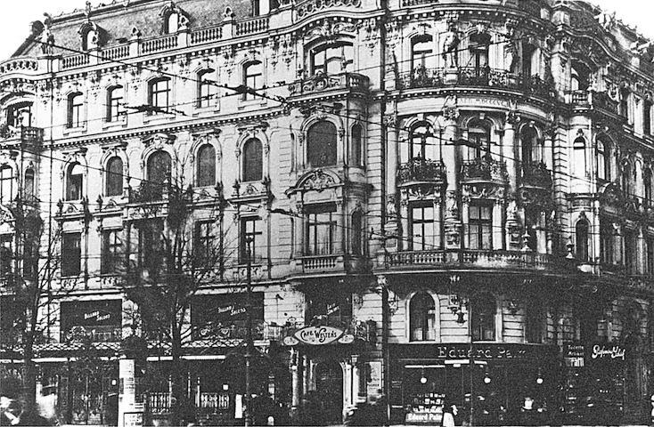 L'edificio che ospitava il Café des Westens (1920; immagine tratta da www.stadtbild-deutschland.org))